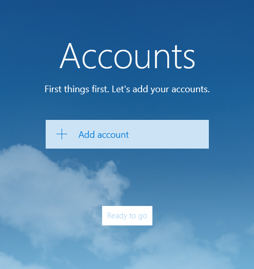 Windows 10 Native Email App - SOS4Net, Inc