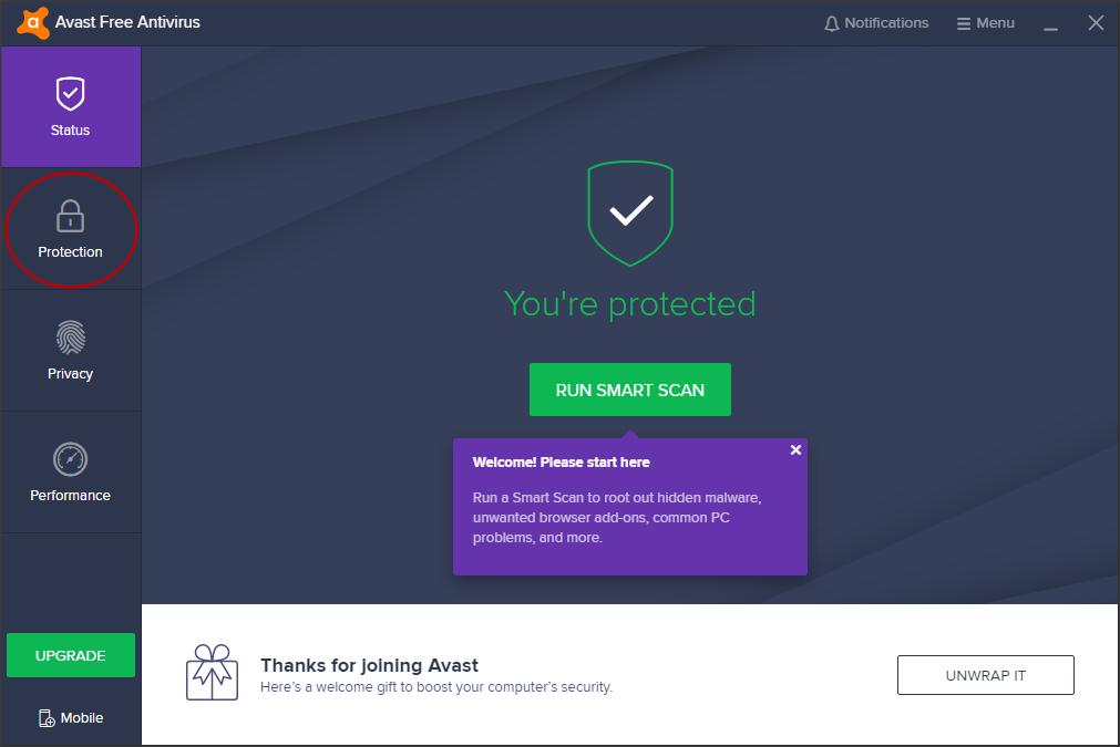 avast web/mail shield root thunderbird