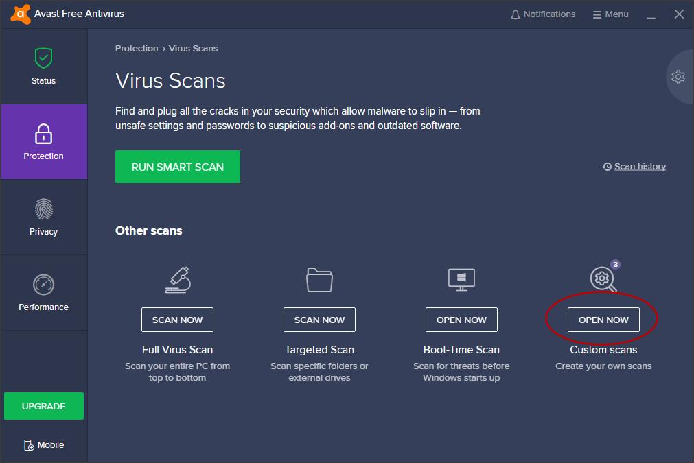 avast pc antivirus setup